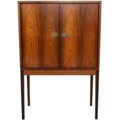 Danish Modern Henning Korch Rosewood Bar Model 132