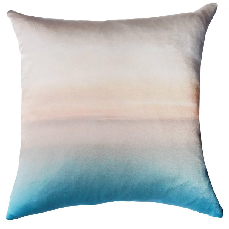 Capuccino Silk Pillow For Sale