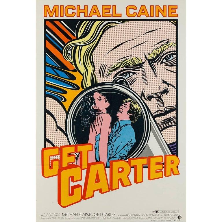 Get Carter Original US Film Poster, John Van Hamersveld, 1968