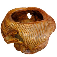 Carved Ironwood Bowl from Indonesia