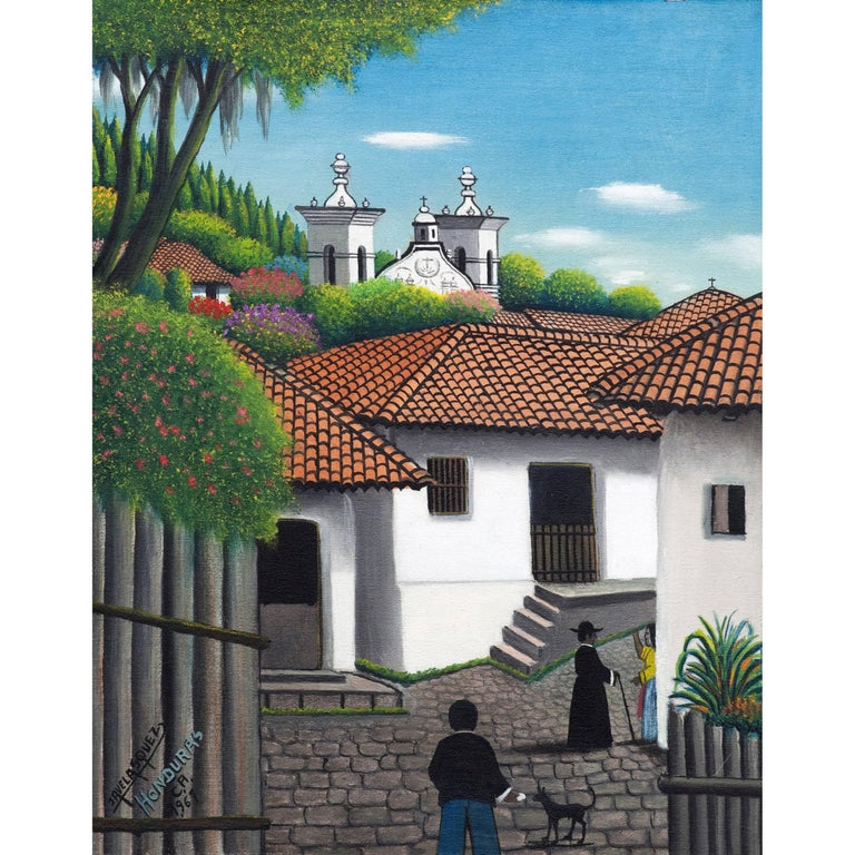 José Antonio Velásquez (1906-1983), Honduran artist | NAIF ... |Jose Antonio Velasquez Paintings