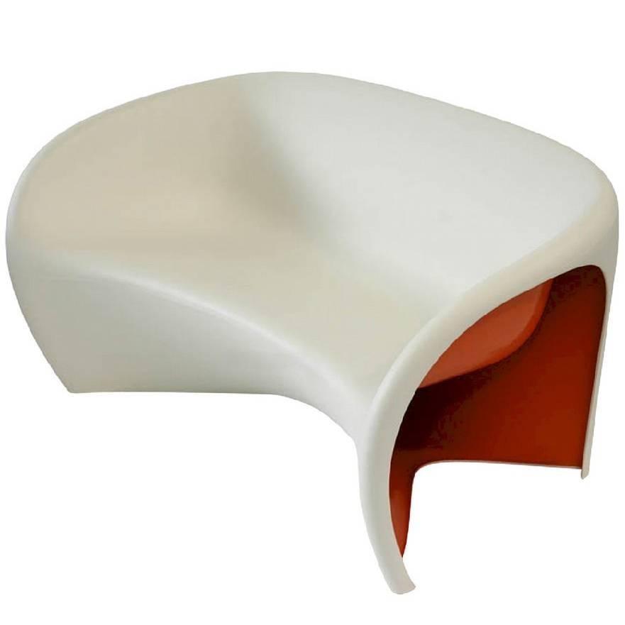 """MT2"" Sculptural Monobloc Sofa Designed by Ron Arad for Driade"