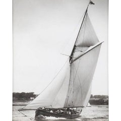 Early Silver Gelatin Photographic Print by Beken of Cowes