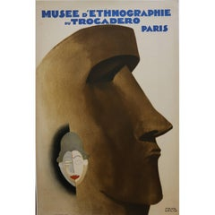 Exceptional Original Lithographic Poster by Paul Colin, France, Art Deco, 1930
