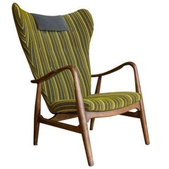 Upholstered Lounge Chair by Ib Madsen & Acton Schubell