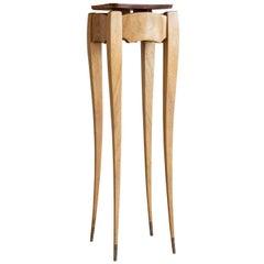 John Lesch Padauk & Wenge Wood Pedestal