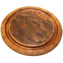 Solid Teak Dansk Tray Designed by Quistgaard Early Production