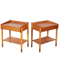 Børge Mogensen Nightstands, Pair