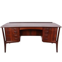 Danish 1960s Rosewood Desk by Svend Aage Madsen