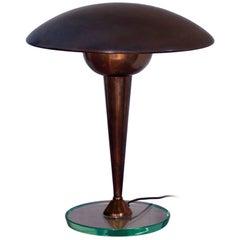 Mid-Century Italian Brass Desk or Table Lamp by Stilnovo, 1950s