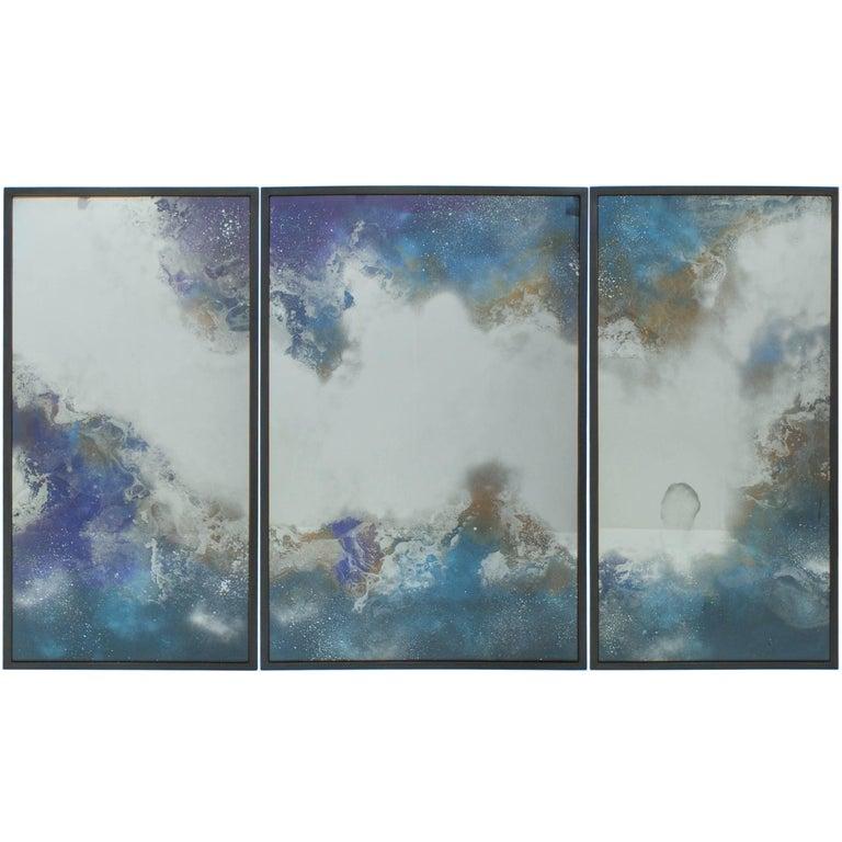 Orion Mirror Triptych, Custom-Made by Tom Palmer Studio