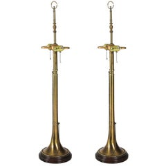 Pair of Trumpet Lamps