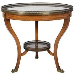Regency Style Bouillotte Table