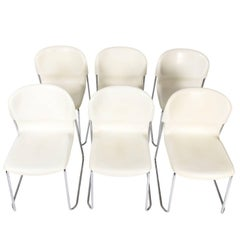 Set of Gird Lang Chairs