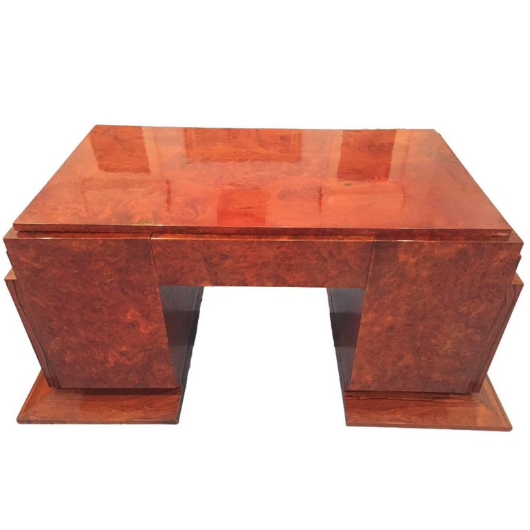 French Art Deco Desk, 1930