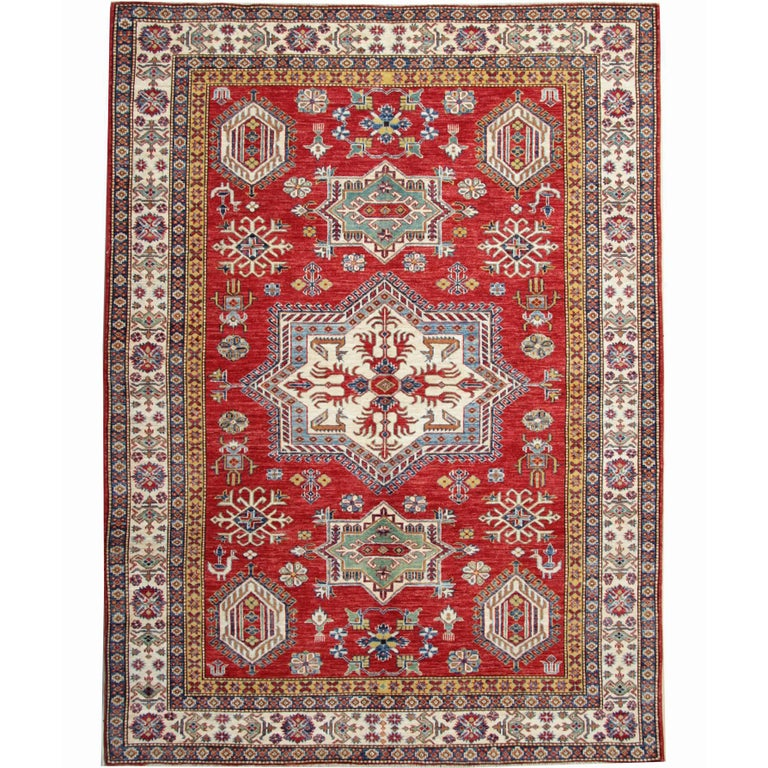 Afghan Rugs, Kazak Rugs From Afghanistan, A Kind Of