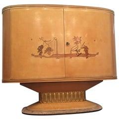 Art Deco Bar Cabinet, Italy, 1940