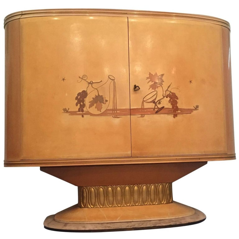 Art Deco Bar Cabinet, Italy, 1940 For Sale