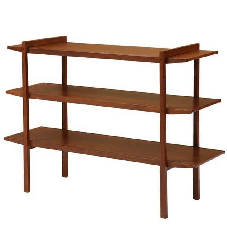 John Van Koert Counterpoint Three Tier Bookshelf For
