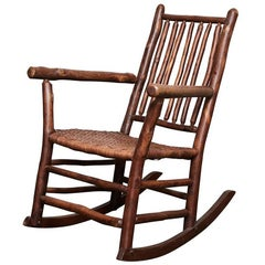 1930s Old Hickory Rocking Chair
