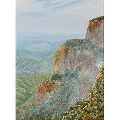 "Daniel Kendrick Texas Painting ""Big Bend"""