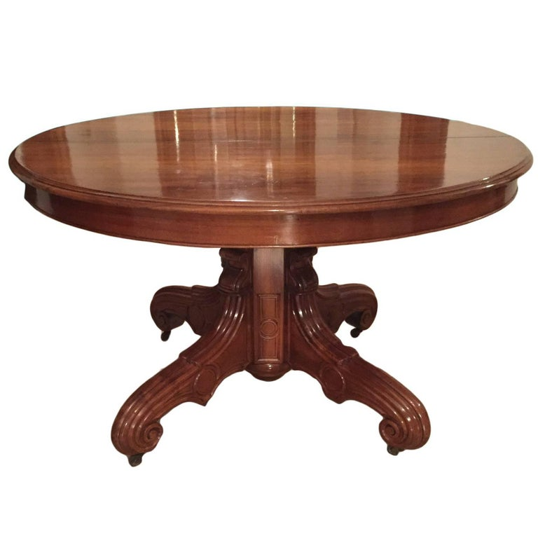 French Dining Table Louis Philippe  1850s 1. French Dining Table Louis Philippe  1850s For Sale at 1stdibs