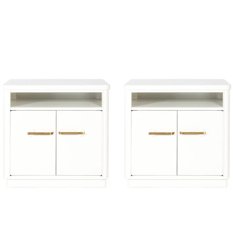Pair of Art Deco Side Cabinets
