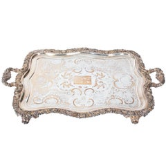 Silver Plated Tray, circa 1970s