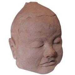 Ceramic Baby Sculpture Maquette