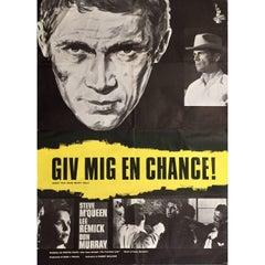 Vintage Steve McQueen Poster