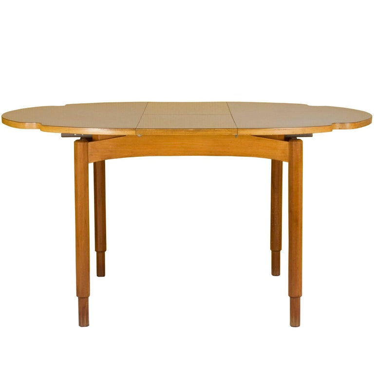 Italian extensible dining table 1960s at 1stdibs for Table 70x70 extensible