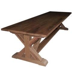 Solid Oakwood Monastery Table