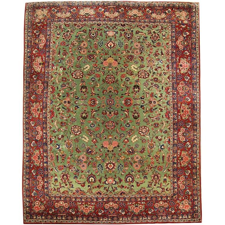 Antique Persian Rugs, Kashan Carpet