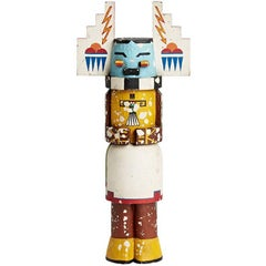 Large Carved and Painted Hopi Kachina Doll, circa 1950s
