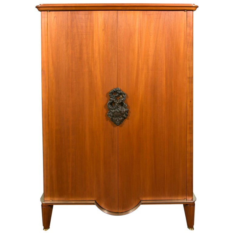 Art Deco Armoire by Andre Arbus and Vadim Androusov For Sale