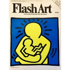Keith Haring Illustrated Cover Art, 1984