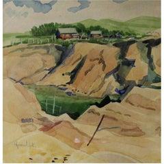 Robert Newton Hurley Painting