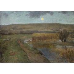 Septimus Edwin Scott Painting
