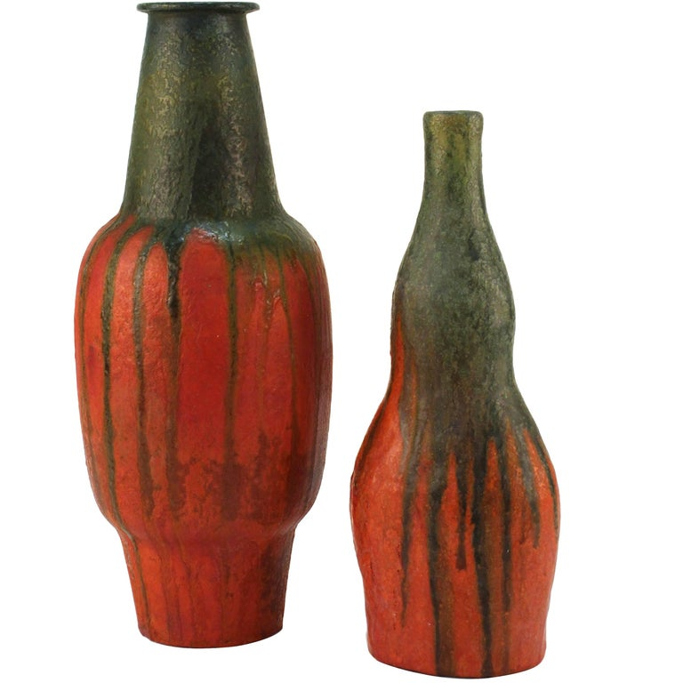 Ceramic Vases by Marcello Fantoni