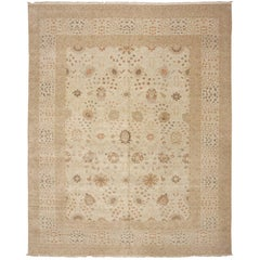 Large Persian Tabriz Design Egyptian Modern Rug