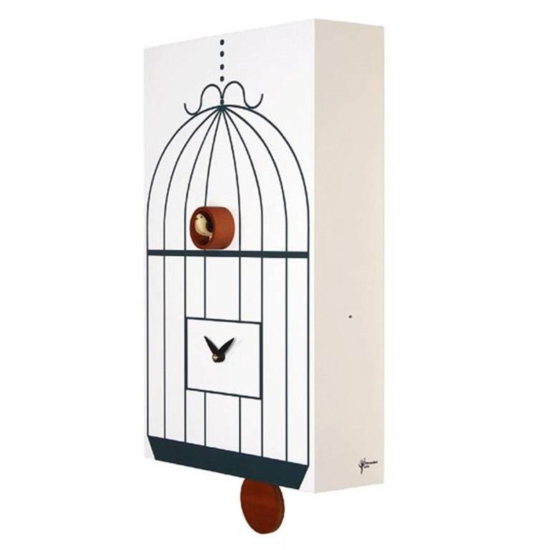 fresh idea whimsical clocks. Modern Italian Cuckoo Clock Designer Gifts Idea White Clocks  39 For Sale at 1stdibs
