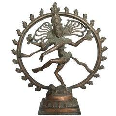 Handcrafted Copper Hindu Shiva