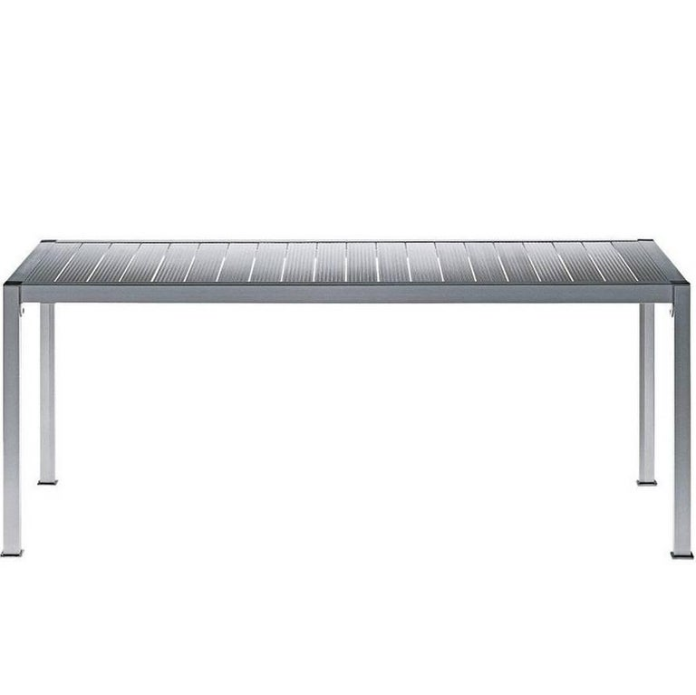 """Thali"" Anodized Aluminum Table Designed by Miki Astori for Driade"