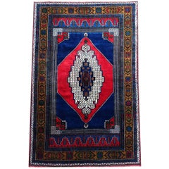 Authentic Turkish All-Wool Rug from Taspinar, circa 1990