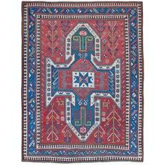 Antique Sewan Kazak Rug