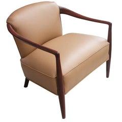 Vintage Midcentury Ib Koford Larsen Style Lounge Chair