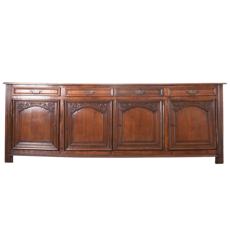 French 19th Century Oak Enfilade