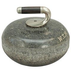 Early Curling Stone