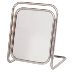 Scandinavian Art Deco Table Mirror Bauhaus Era