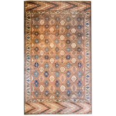 Unbelievable 19th Century Tekeh Rug